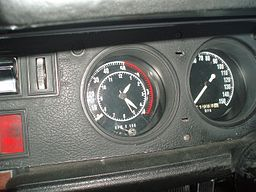 1968 Plymouth Road Runner Dashboard