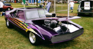 AMC Javelin 1971-74 Purple Blown Custom Paint