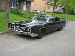 Gangster-styled 1970 Lincoln Continental