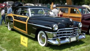 Glamour Cars: 1950 Chrysler Town & Country Newport