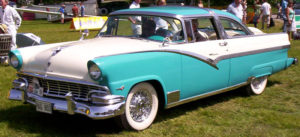 Glamour Cars: 1956 Ford Crown Victoria