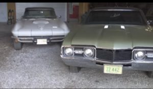 1966 Corvette and 1968 Olds 442 Barn Finds